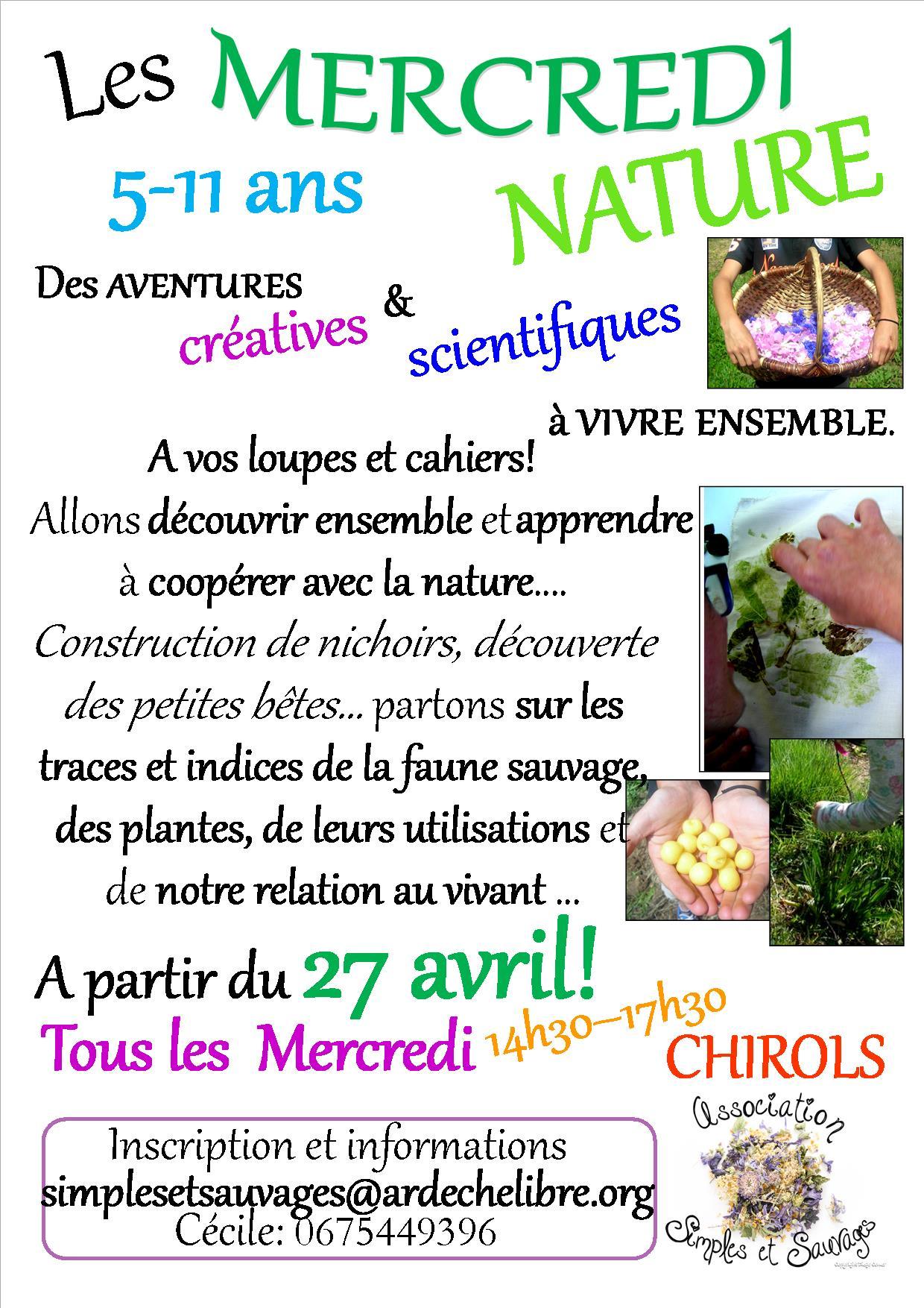 Mercredi nature